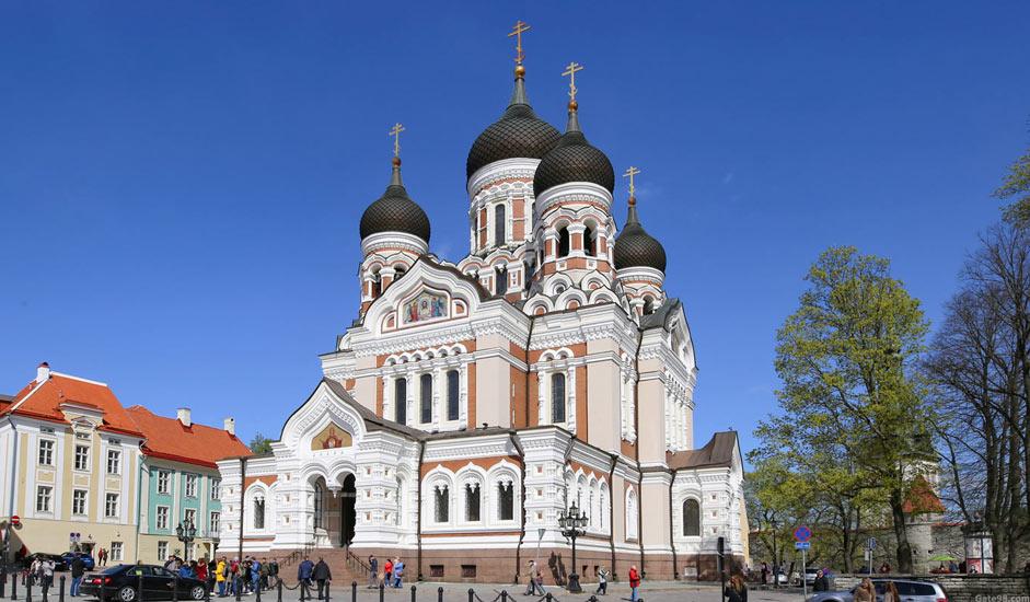 Aleksander Nevskin katedraali, Tallinna