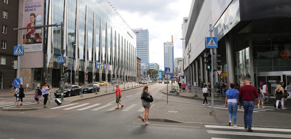 Viru-keskus, ostokset Tallinna