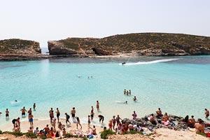 Comino - Sininen laguuni Malta