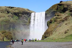 Etelä-Islanti Skogafoss