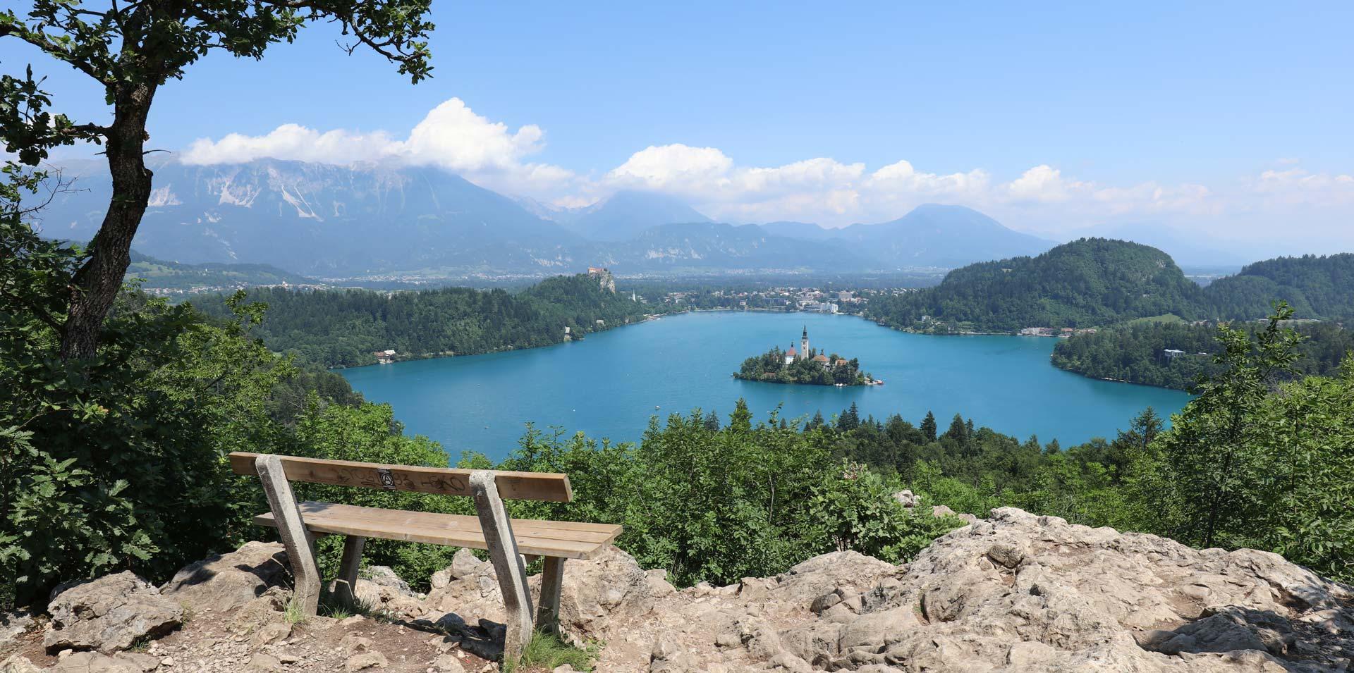 Bled - Matkakohteita Eurooppaan