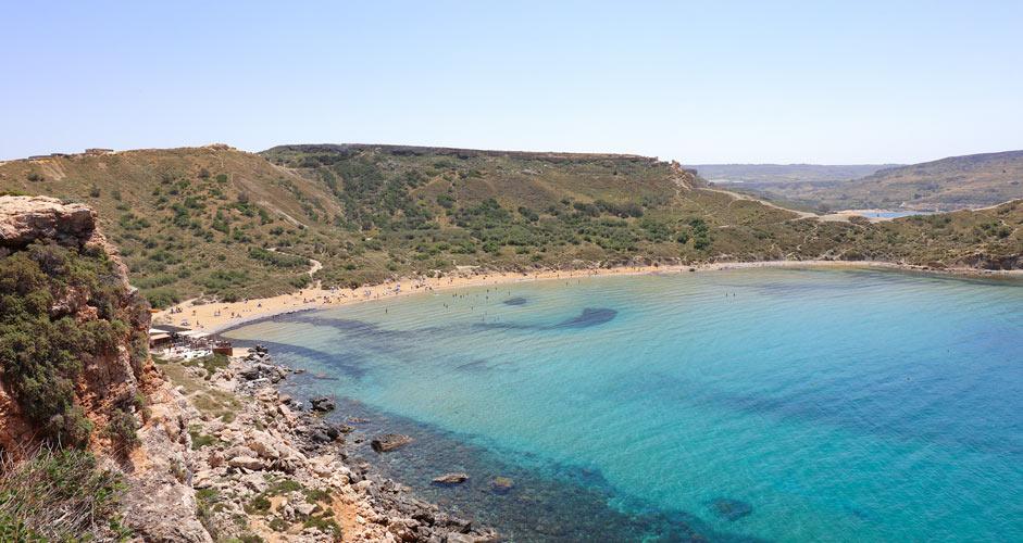 Ghajn Tuffieha - Malta rannat