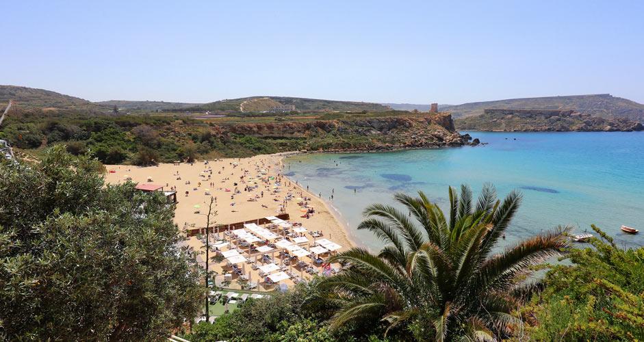 Golden Bay - Maltan rannat