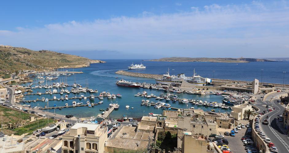 Gozo, Mgarrin satama