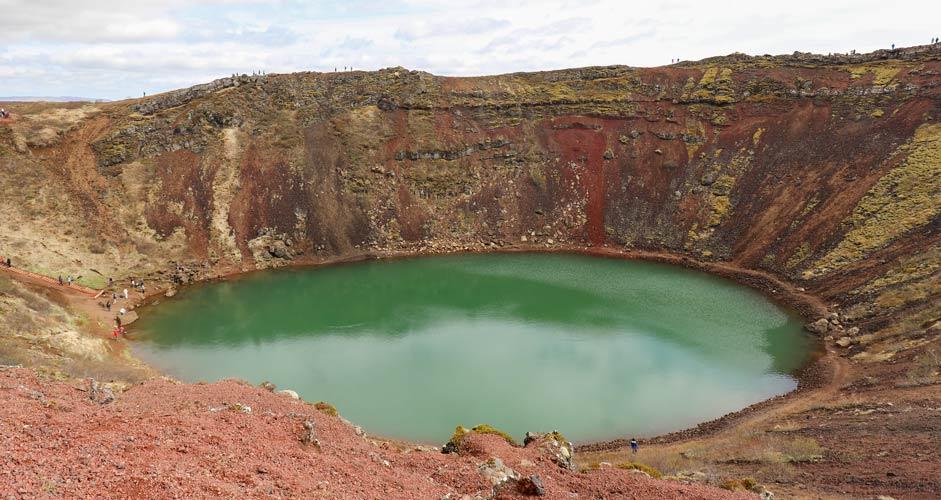 Keridin kraatteri, Kultainen kierros