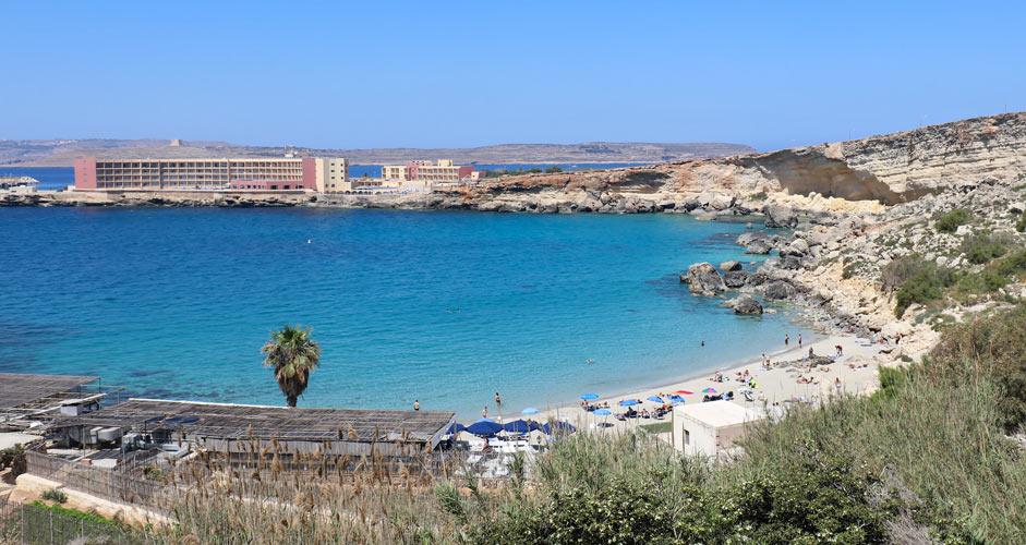 Paradise Bayn ranta, Malta