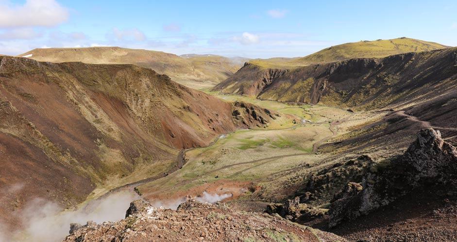 Reykjadalurin laakso, Kultainen kierros, Islanti