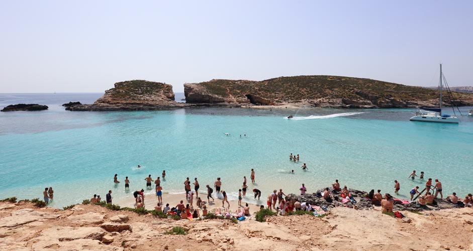 Sininen laguuni Malta