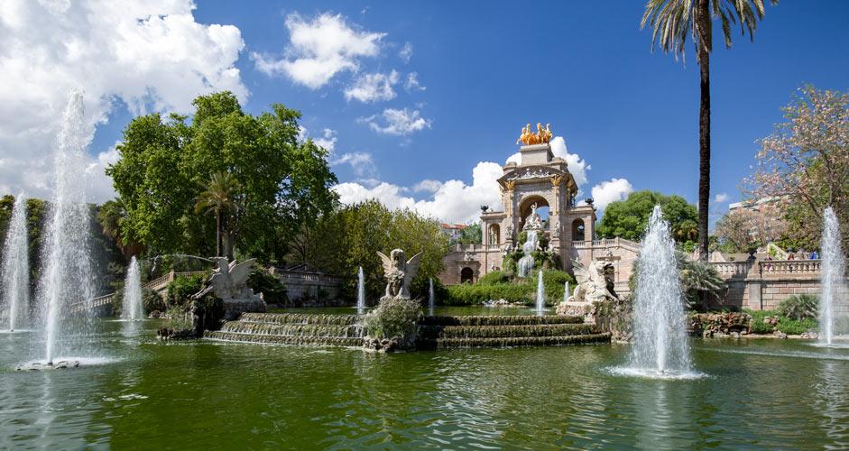 Cascada Monumental, Barcelona