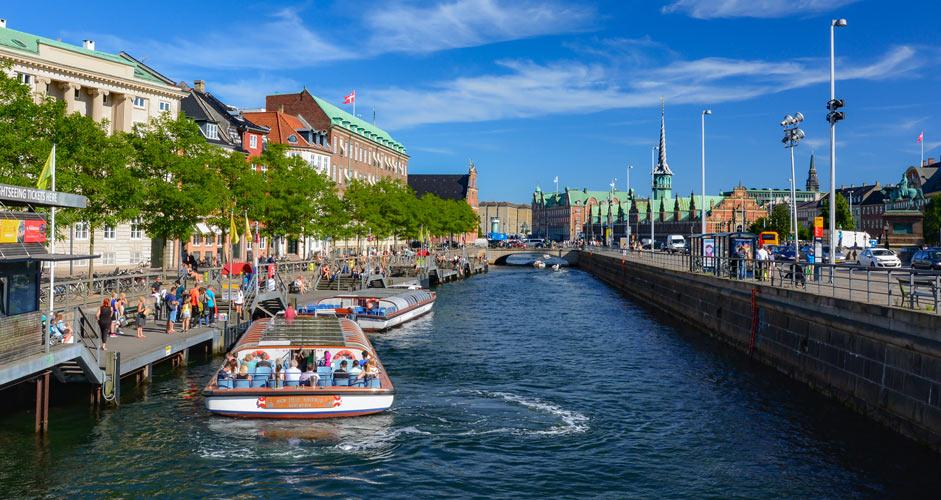 kanaaliristeily Kööpenhamina