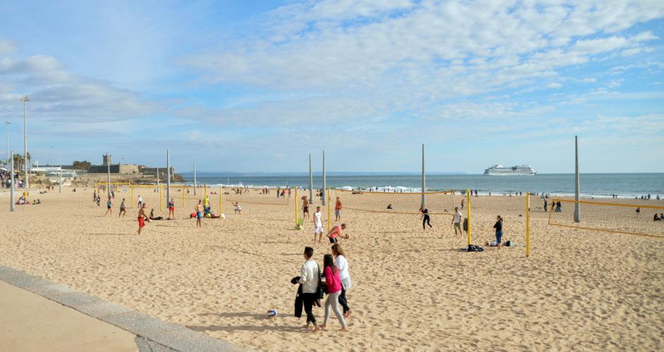 Praia de Carcavelos, Estoril
