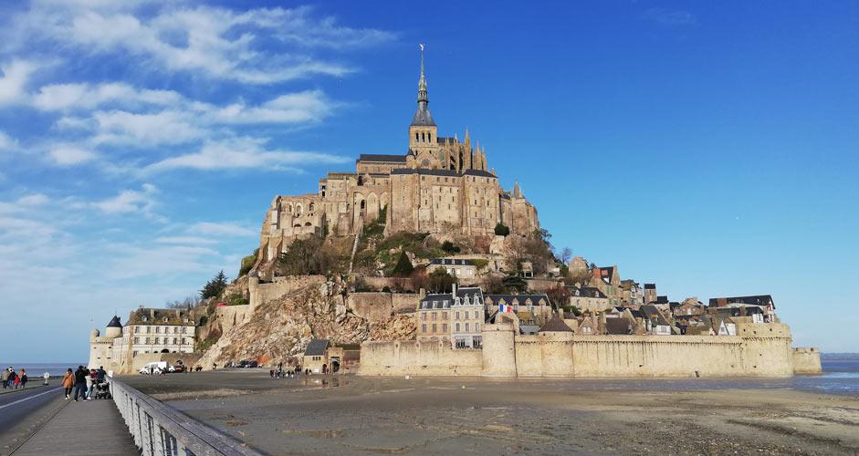 Le Mont Sant Michel - päiväretki