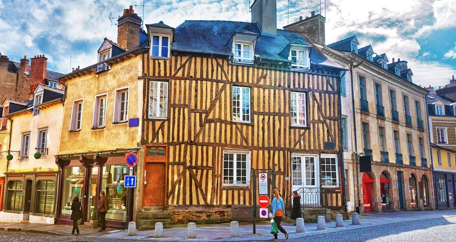 Rennes - Vanhakaupunki