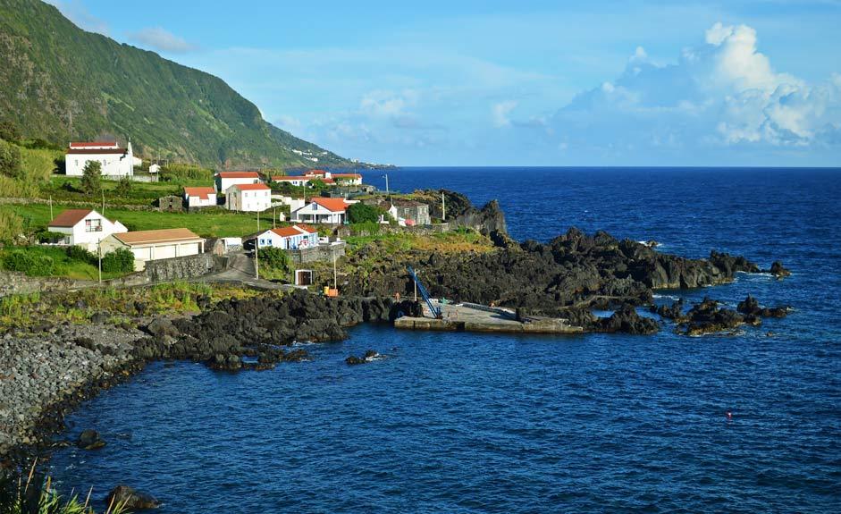 Faja das Almas, São Jorge, Azorit