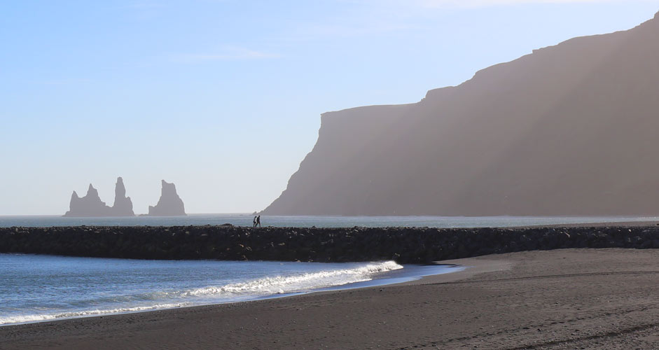 Reynisdrangar-kalliot Etelä-Islannissa