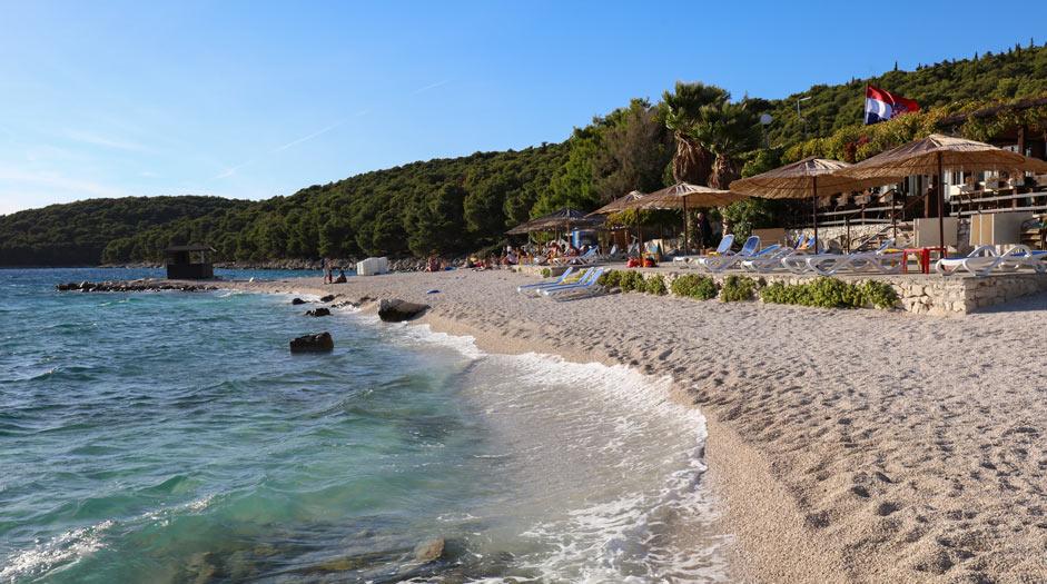 Medena beach, Seget Donji